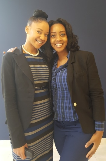 Dr. Courtney Mitchell and Dr. Rhonda Jack